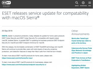 eset-releases-service-update-for-compatability-with-macos-sierrar